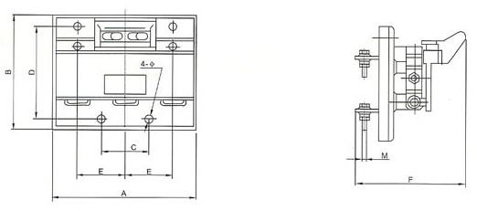 上海人民电器价格表_HD11FA刀开关(隔离器)-HD11FA-200/38,HD11FA-400/38-上海人民电器